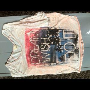 Daytrip short sleeve T-shirt pink